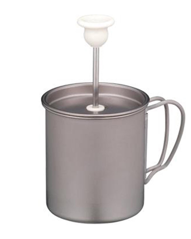מקציף חלב מטיטניום CS-112